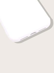 Einfarbige iPhone Schutzhuelle