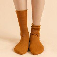 Simple Plain Socks