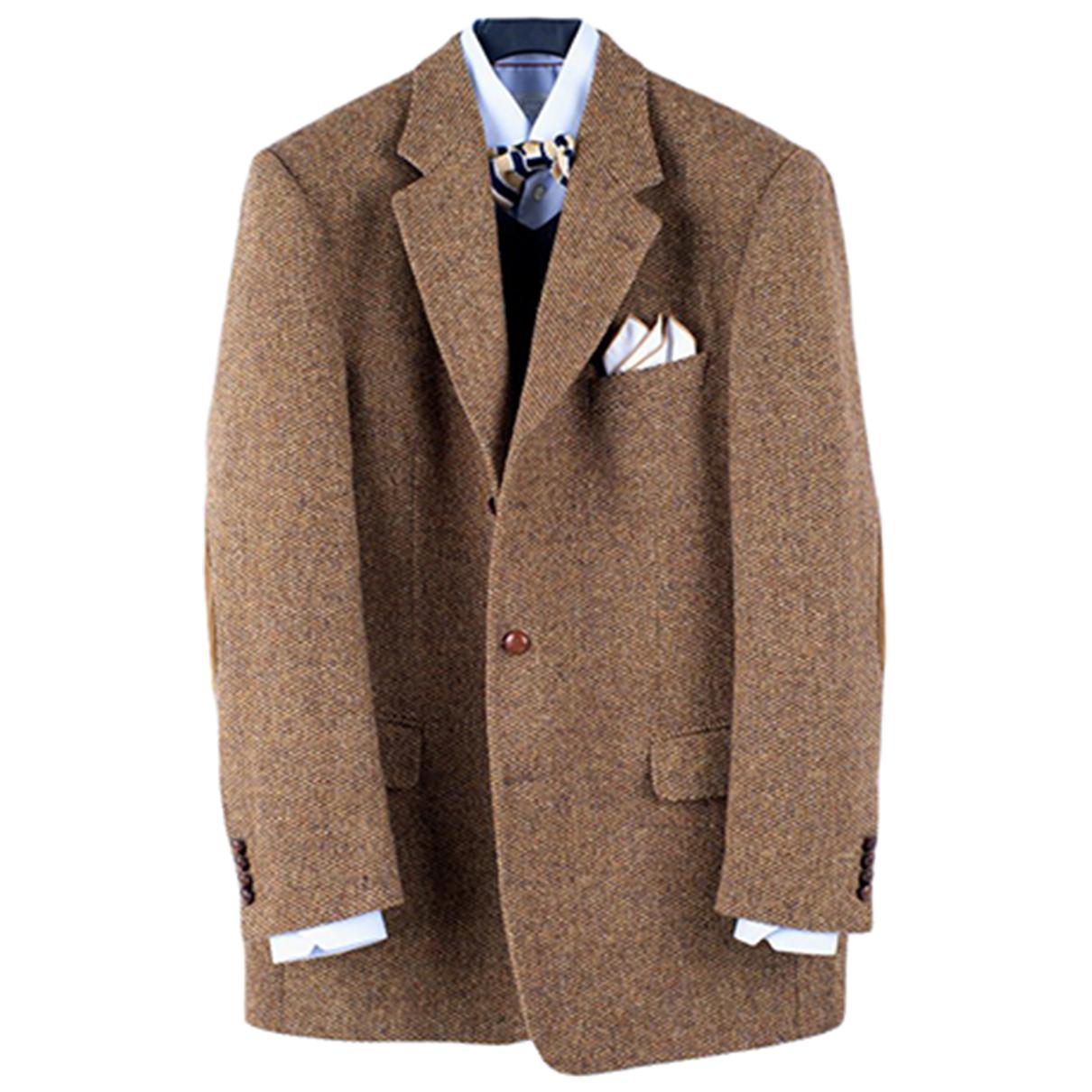Autre Marque - Vestes.Blousons   pour homme en laine - marron