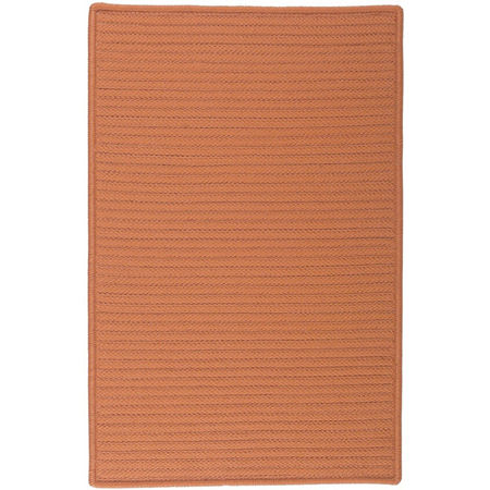 Colonial Mills Nantucket Reversible Braided Indoor/Outdoor Rectangular Rug, One Size , Orange