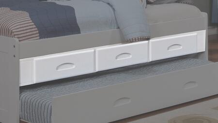 0292-EKT Elevation Storage with 3 Drawers and Simple Pulls in
