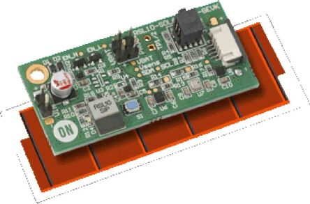 ON Semiconductor RSL10-SOLARSENS-GEVK, RSL10 Solar Cell Multi-Sensor Platform Evaluation Board for RSL10 for Air