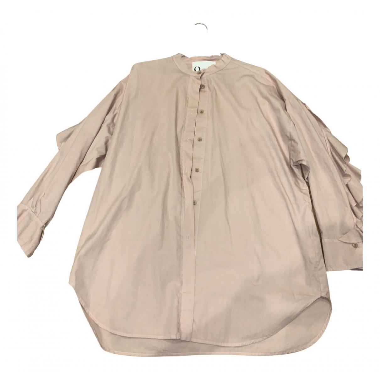 8pm - Top   pour femme en coton - rose