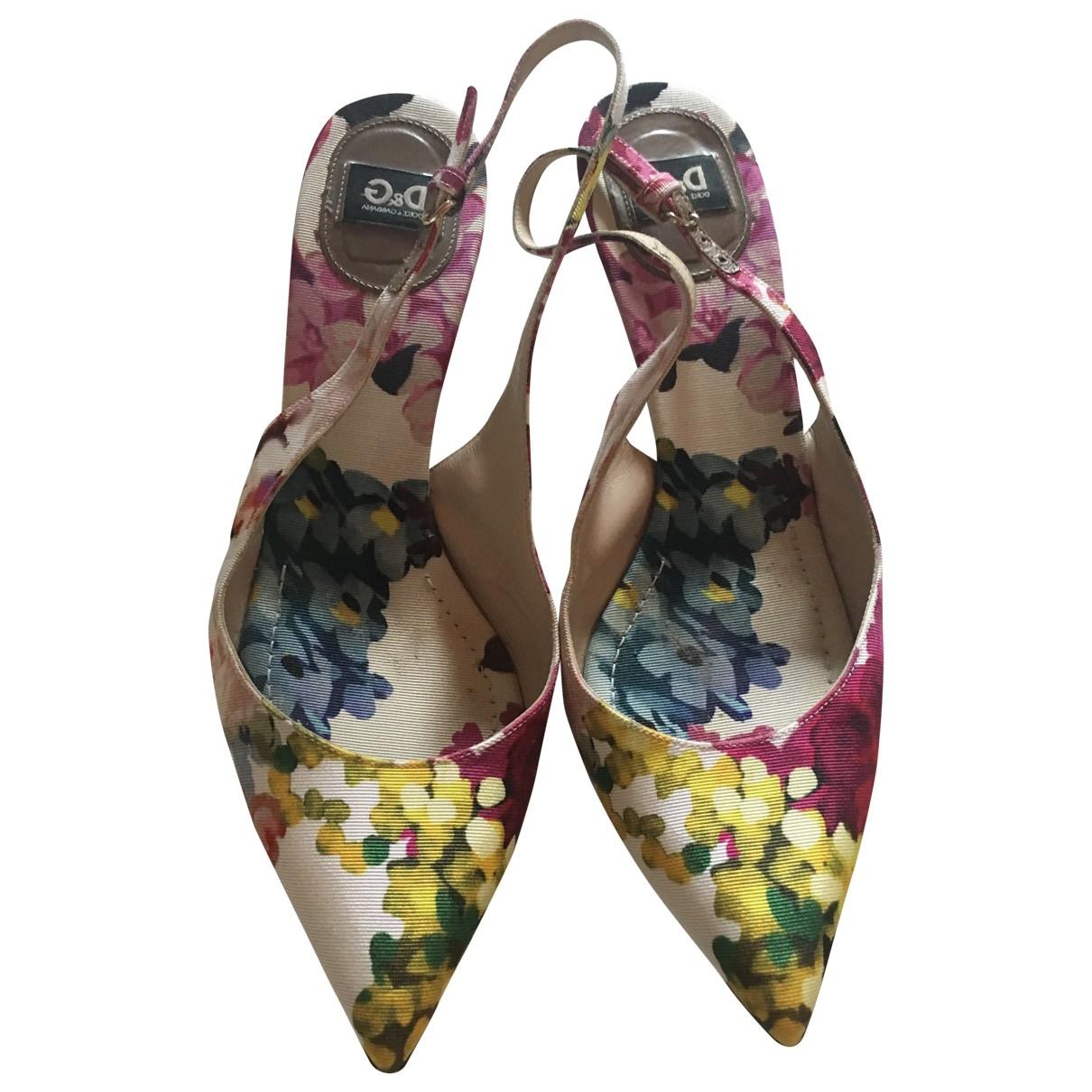 D&g \N Multicolour Cloth Heels for Women 40 EU