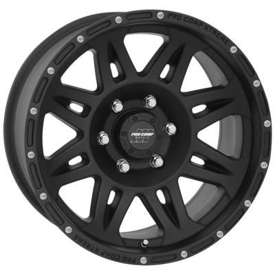 Pro Comp 05 Series Torq, 17x9 Wheel with 6 on 135 Bolt Pattern - Matte Black - 7005-7936