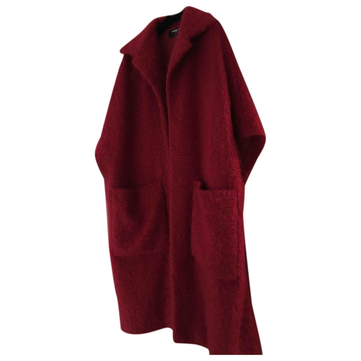 Paule Ka \N Maentel in  Rot Wolle