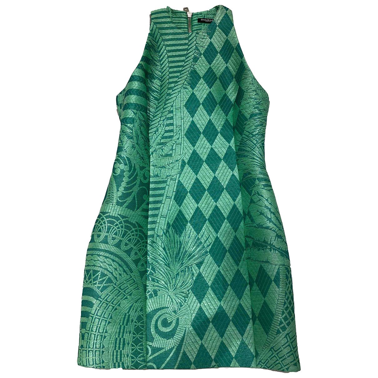 Balmain N Green dress for Women 38 FR
