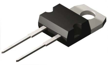 ROHM 650V 15A, Dual SiC Schottky Diode, 2 + Tab-Pin TO-220AC SCS215AGC (2)