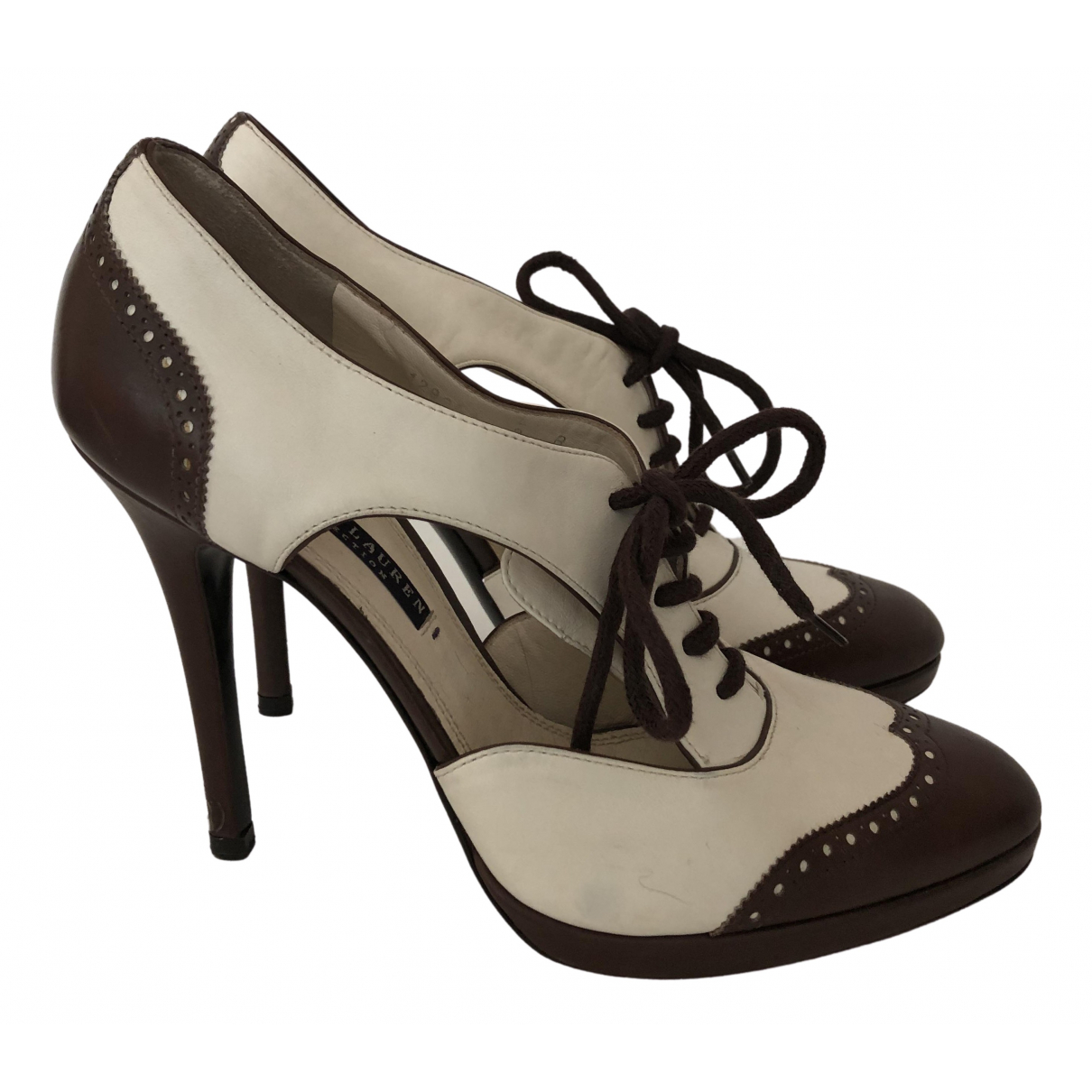 Ralph Lauren Collection - Escarpins   pour femme en cuir
