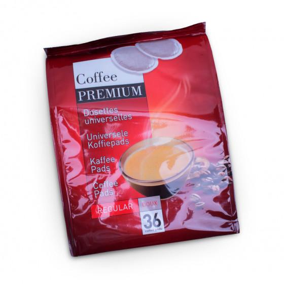 "Kaffeepads Coffee Premium ""Regular"", 36 Stk."