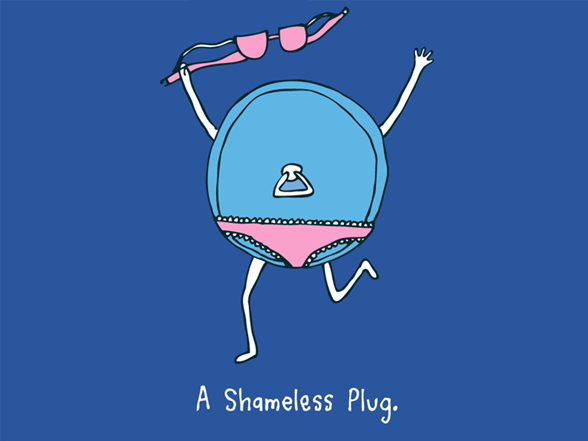 A Shameless Plug T Shirt
