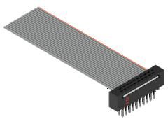 Samtec FFMD Ribbon Cable Assembly, IDC Socket to IDC Socket (34)