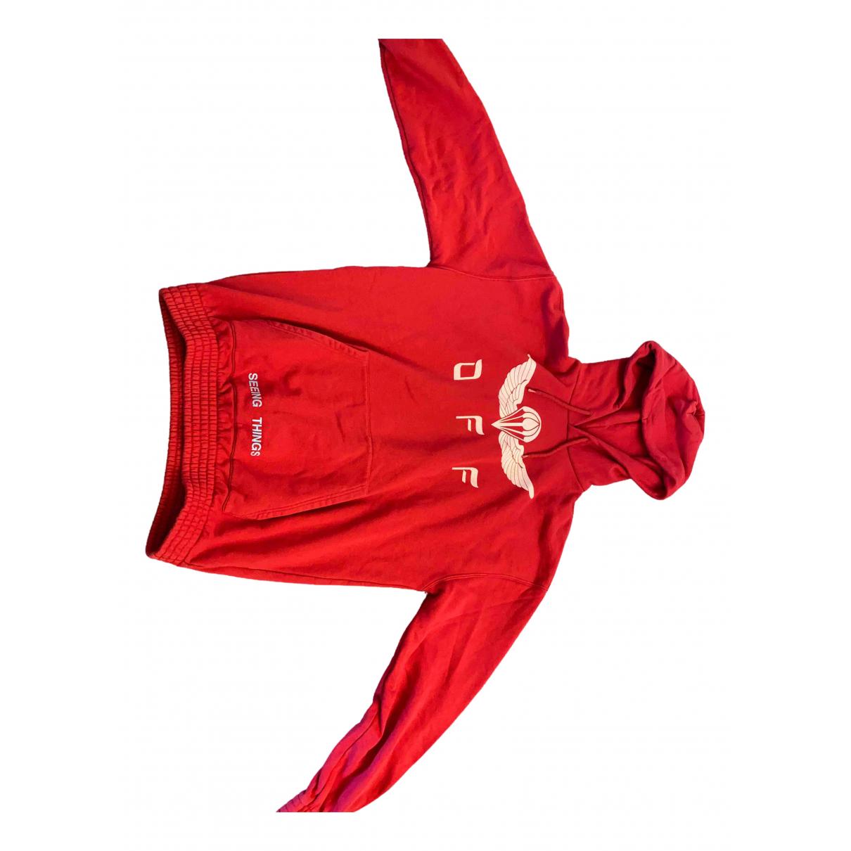 Off-white - Pulls.Gilets.Sweats   pour homme en coton - rouge