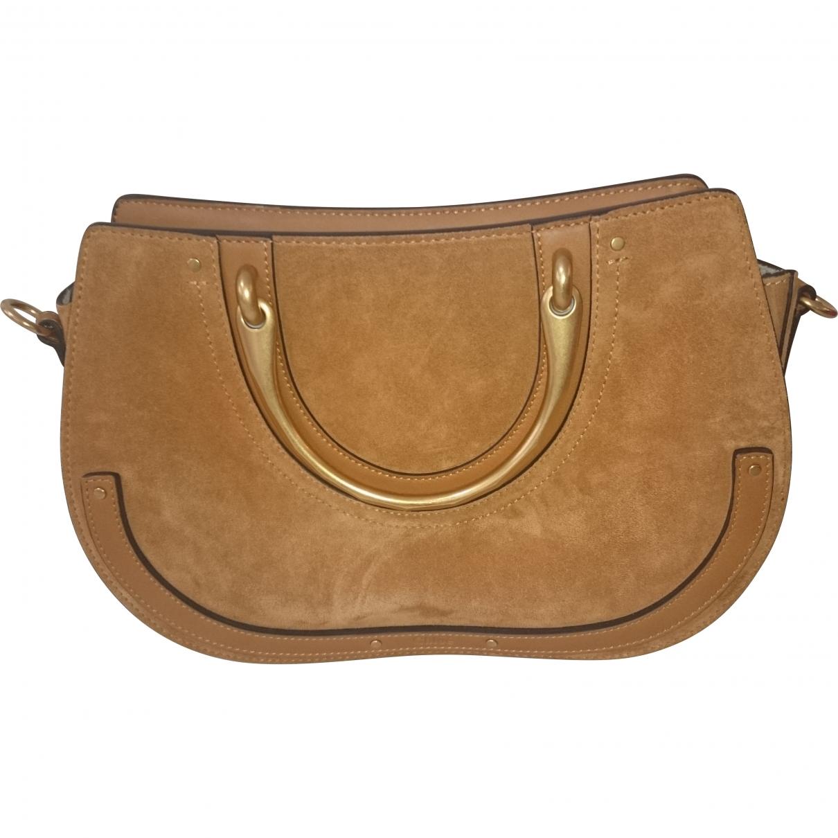 Chloé Pixie Camel Leather handbag for Women \N