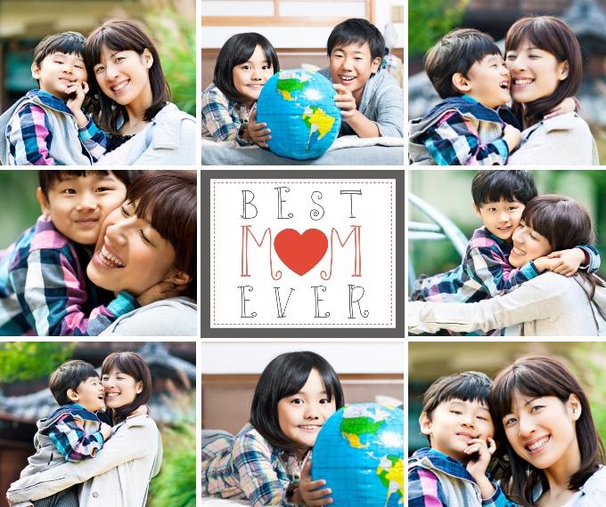 Family + Friends Fleece Blanket, 50x60, Gift -Best Mom