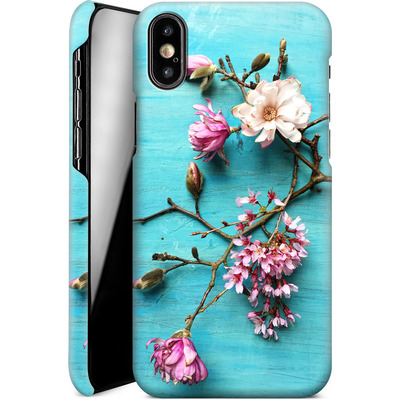 Apple iPhone XS Smartphone Huelle - Flowers of Spring von Joy StClaire