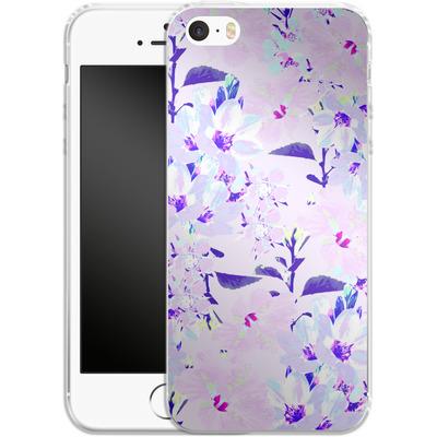 Apple iPhone SE Silikon Handyhuelle - Hyper Garden von Zala Farah