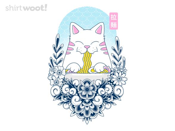 Ramen Cat T Shirt