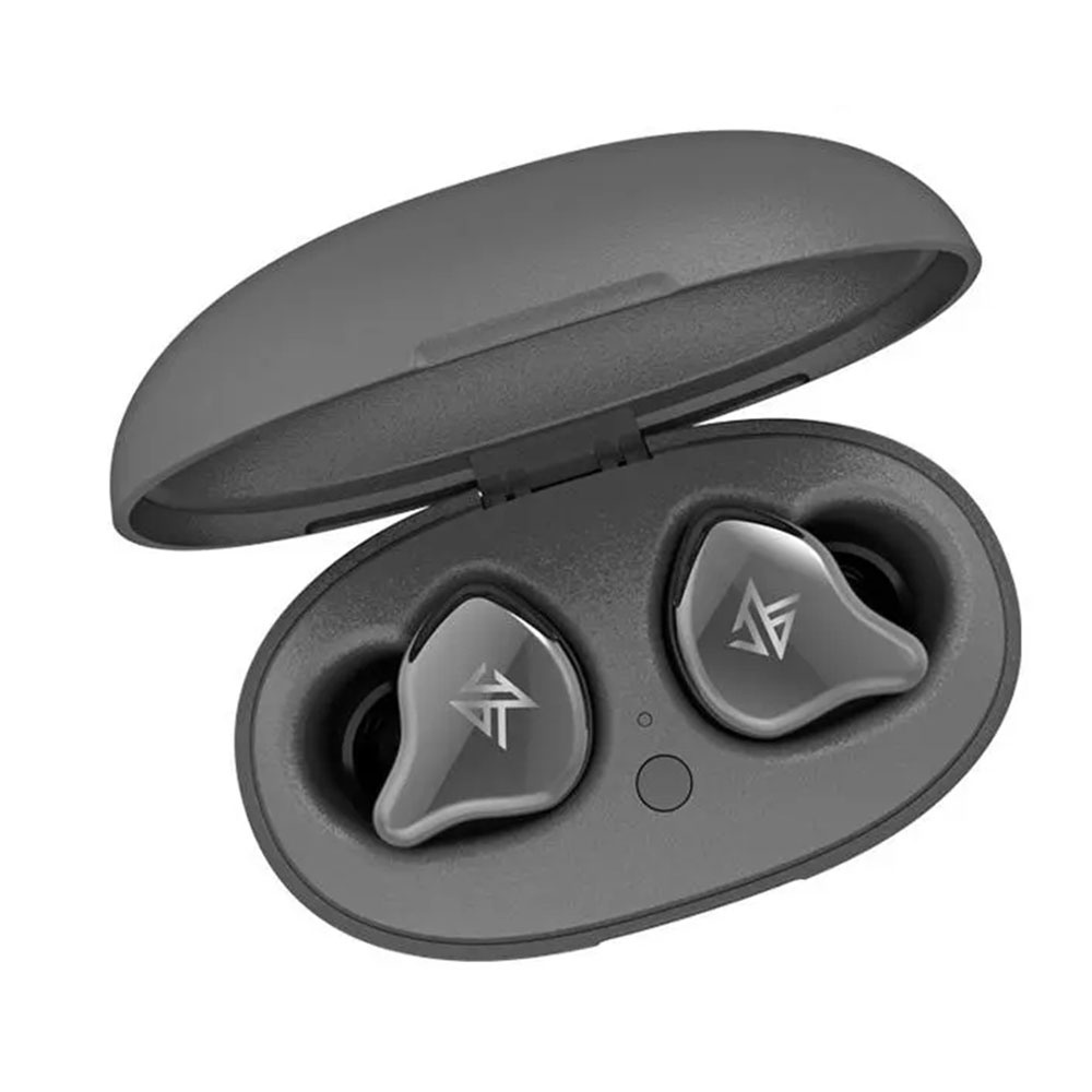 KZ S1 TWS Bluetooth 5.0 TWS Earphones Hybrid Driver - Gray