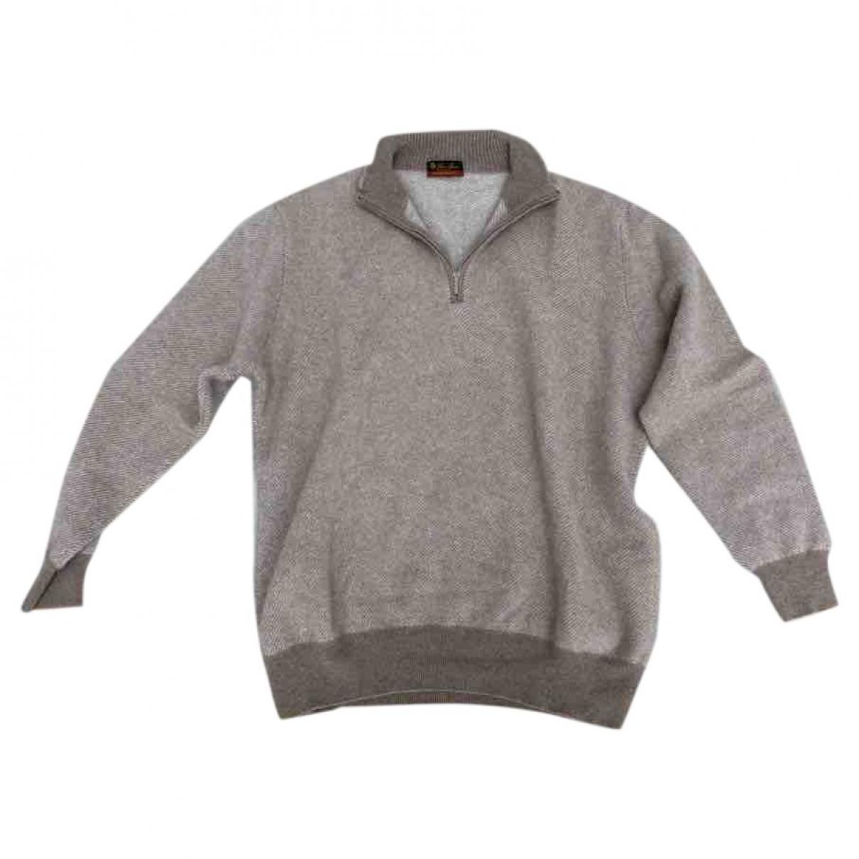 Loro Piana \N Pullover.Westen.Sweatshirts  in  Beige Kaschmir