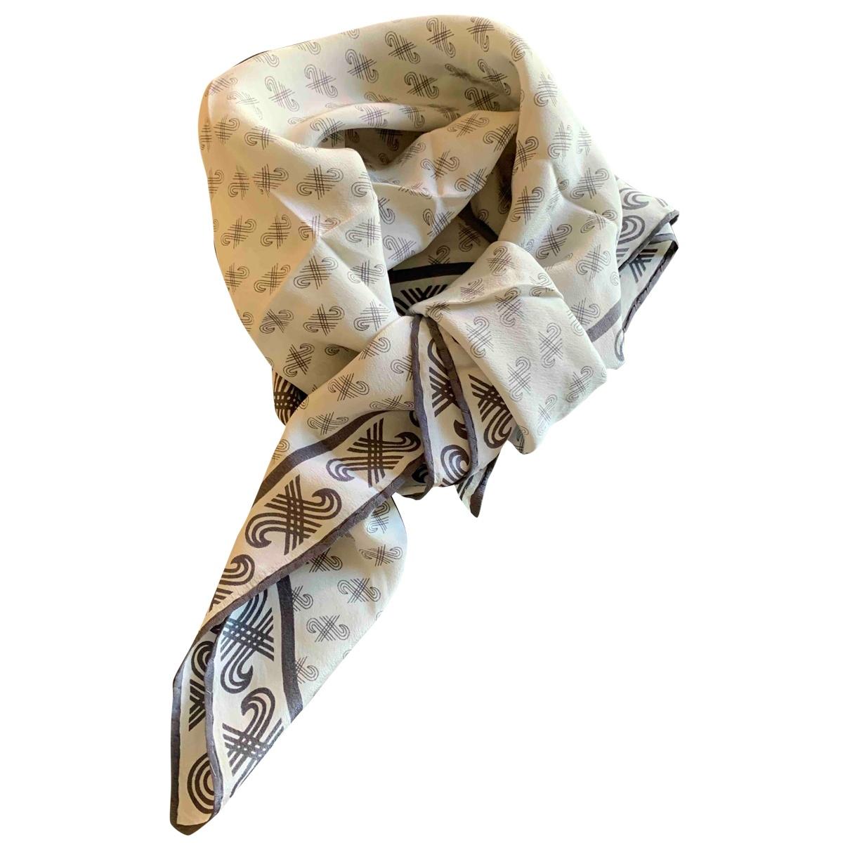 Jaeger \N Grey Silk scarf for Women \N
