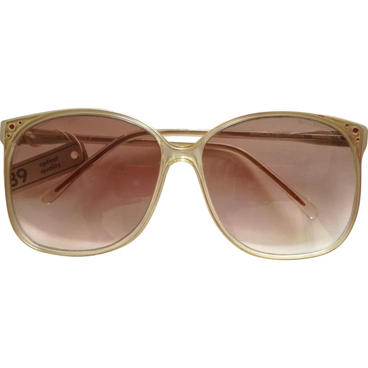 Balenciaga \N Beige Sunglasses for Women \N