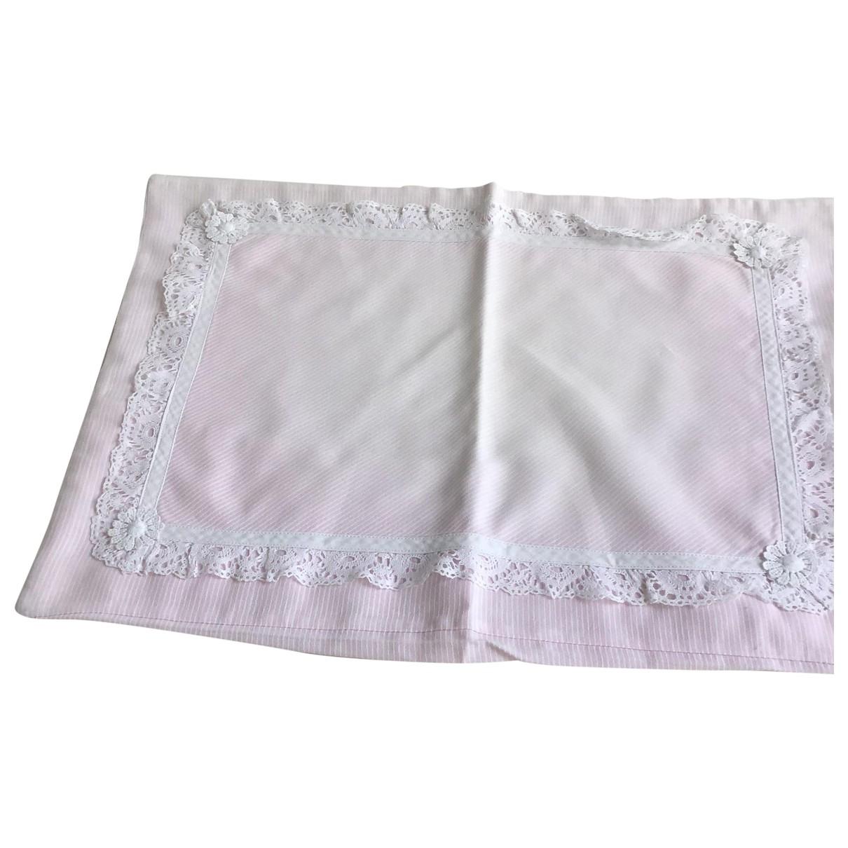 Dior - Linge de maison   pour lifestyle en coton - rose