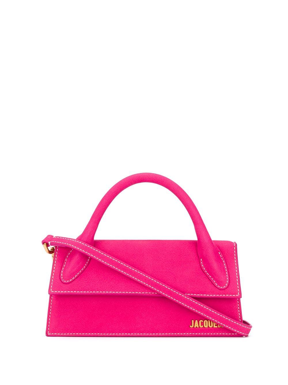 Le Chiquito Long Leather Handbag