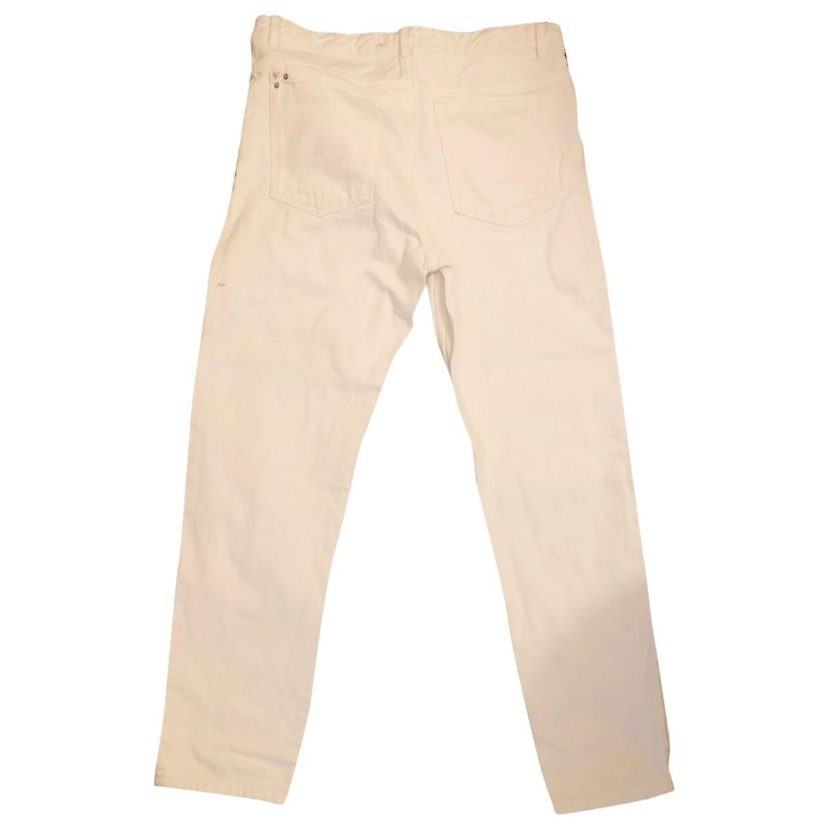 Isabel Marant Etoile \N White Cotton Jeans for Women 36 FR