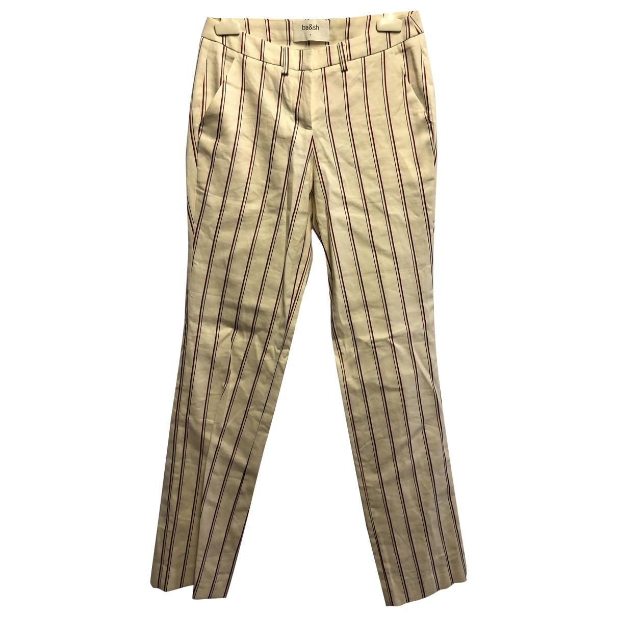 Pantalon de traje Ba&sh