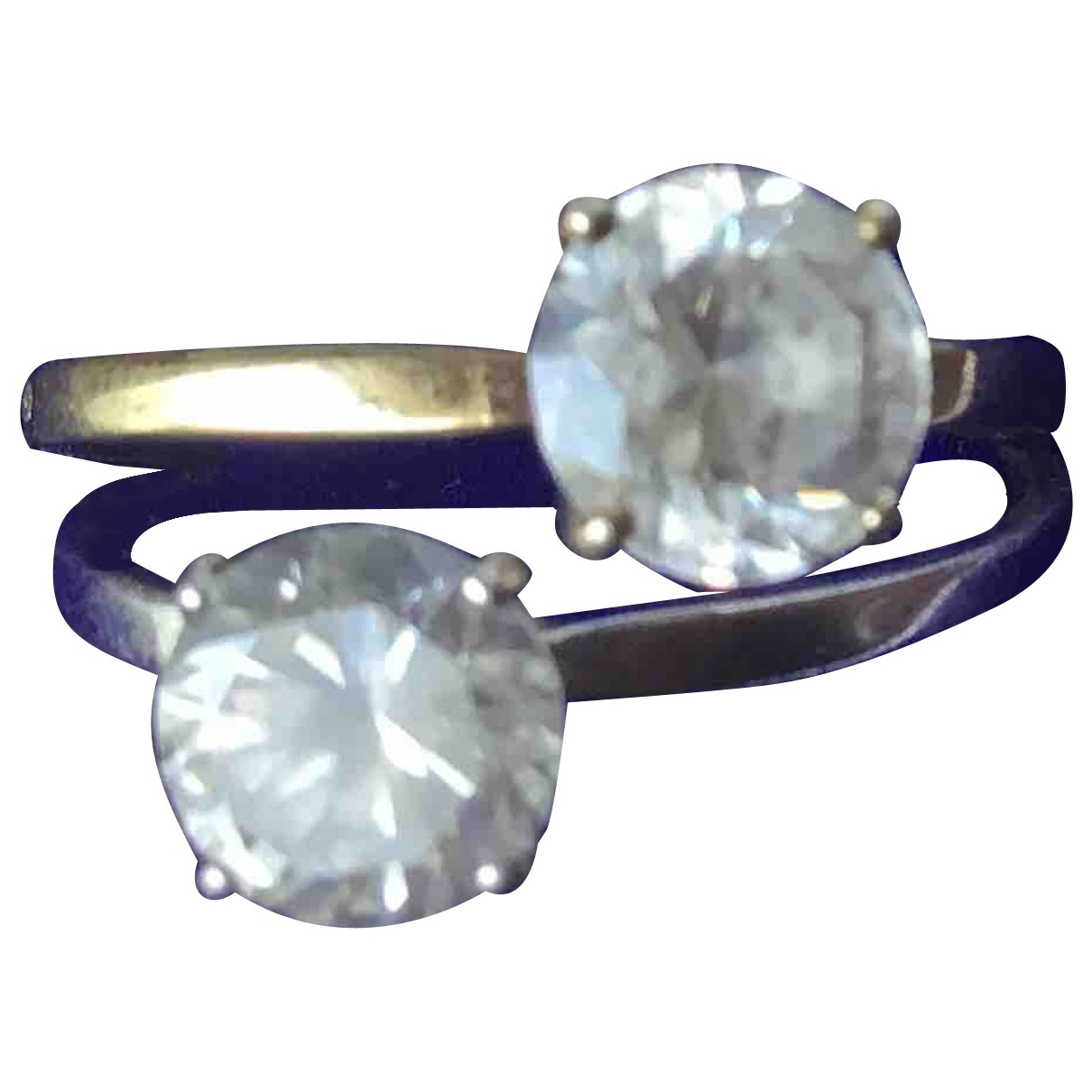Non Signe / Unsigned Chevalieres Ring in Silber