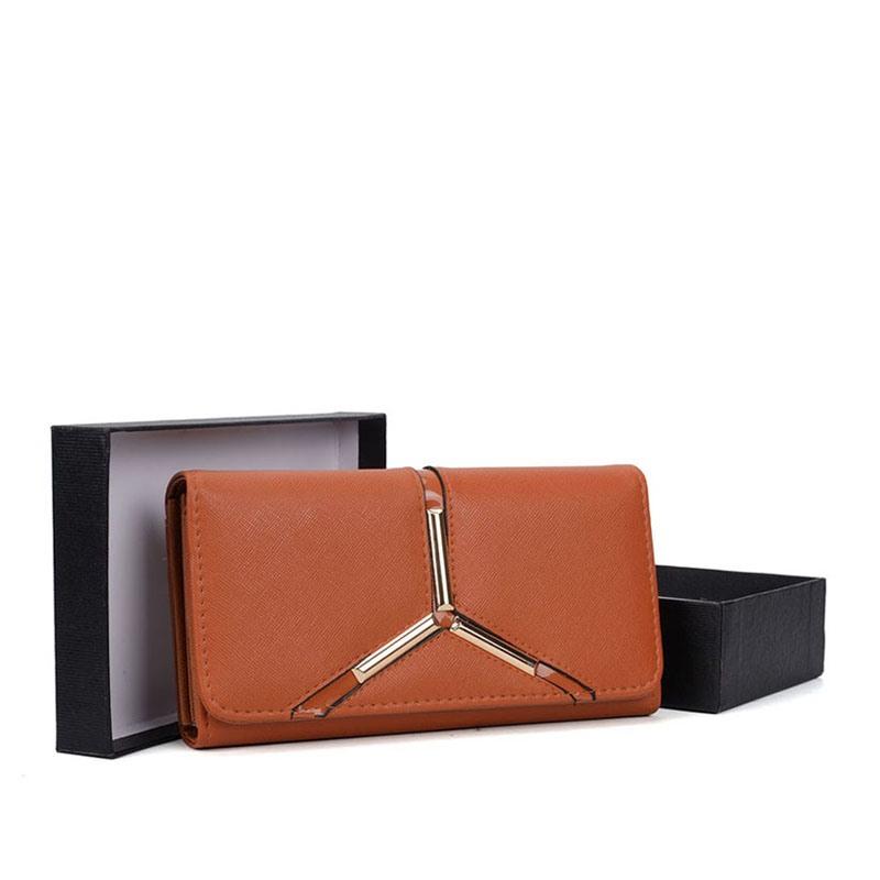 Ericdress Long Type PU Women Wallet