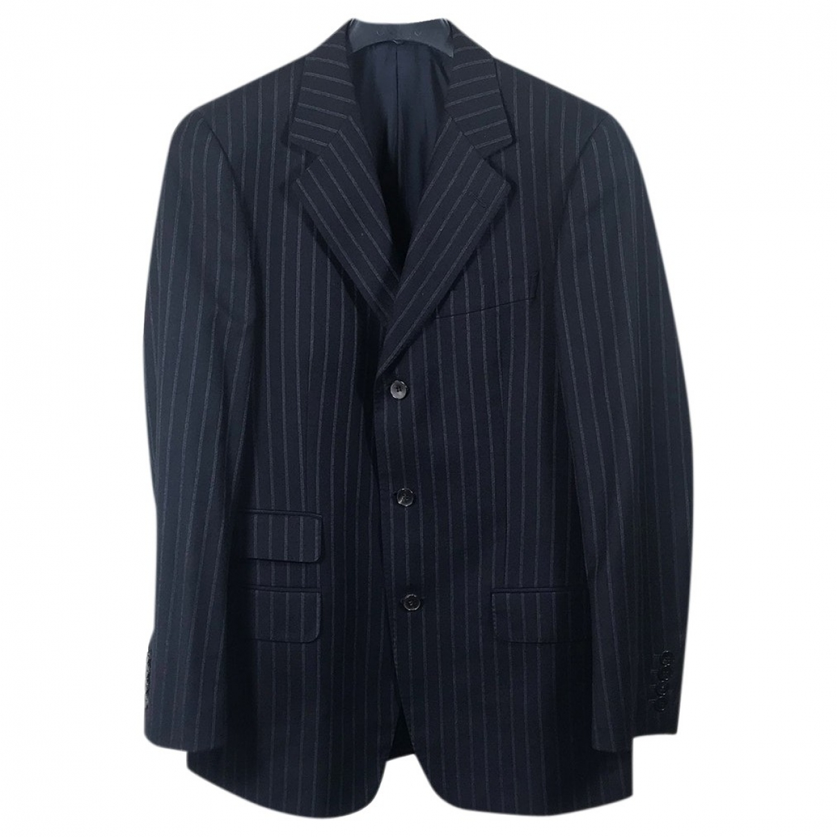 Gucci \N Blue Wool Suits for Men 48 IT