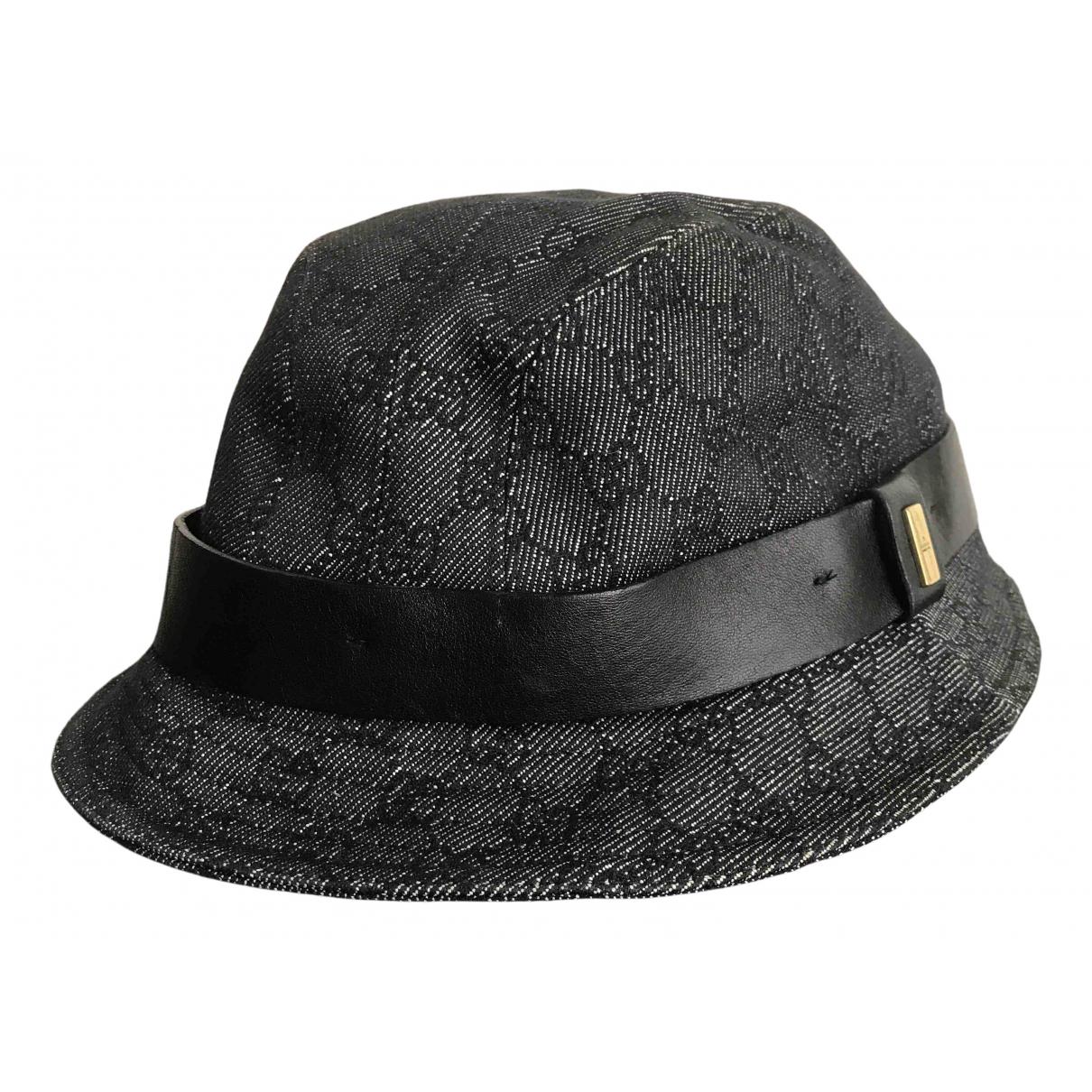 Gucci - Chapeau & Bonnets   pour homme en coton - noir
