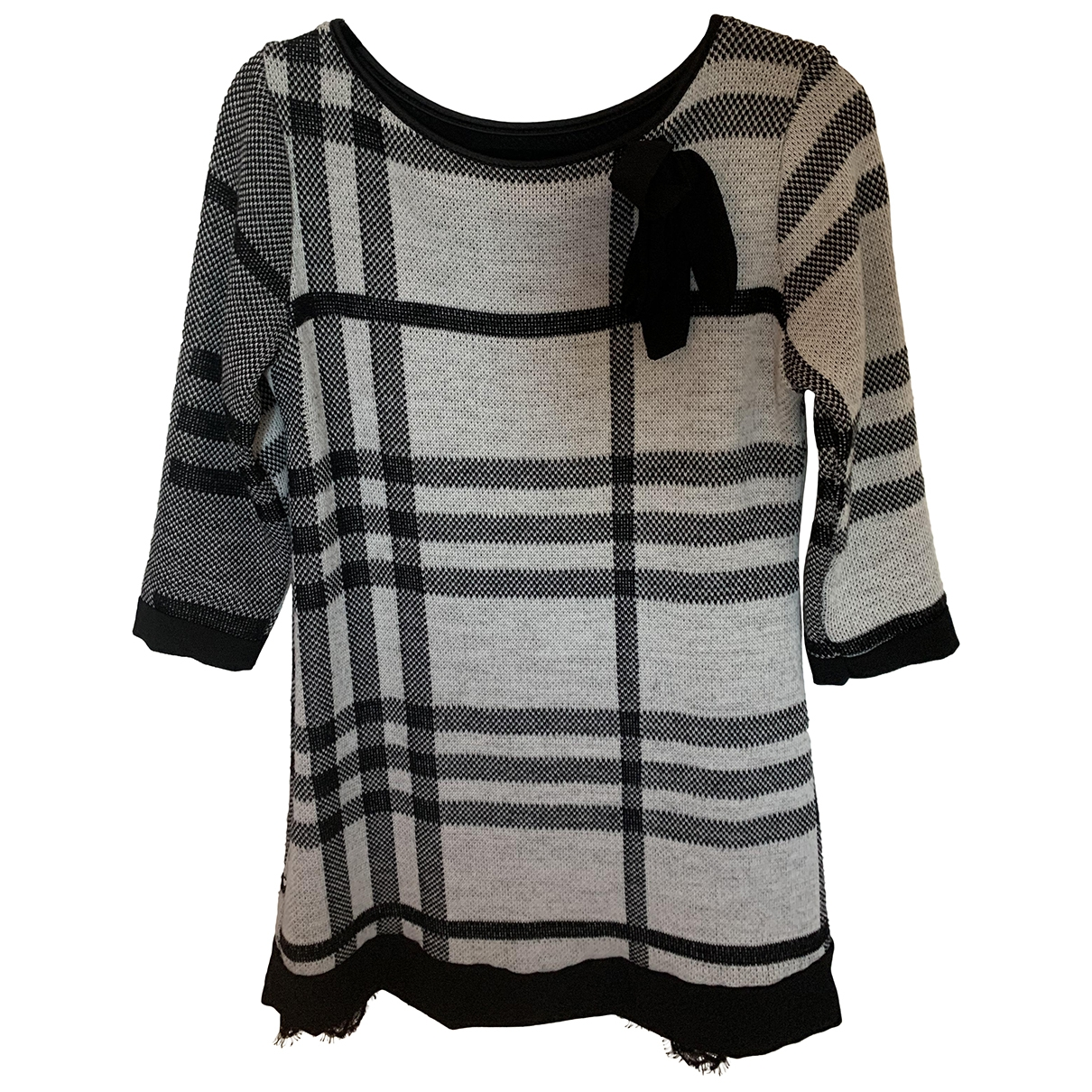 Non Signé / Unsigned \N Grey Knitwear for Women One Size International
