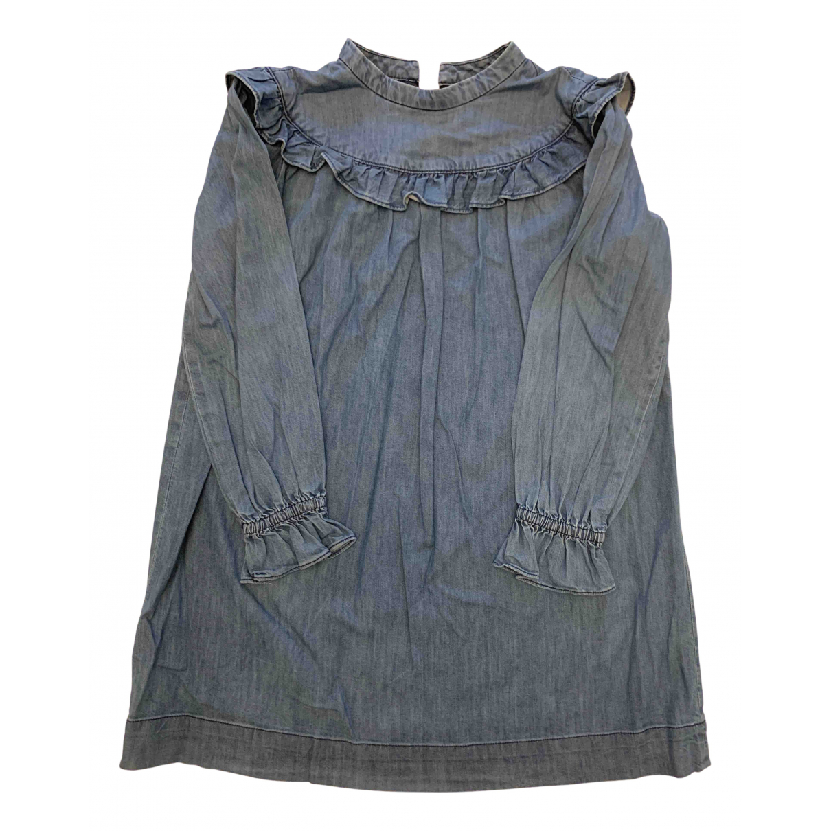 Bonpoint N Blue Denim - Jeans dress for Kids 10 years - up to 142cm FR