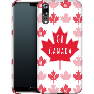 Huawei P20 Smartphone Huelle - Oh Canada  von caseable Designs