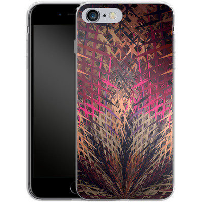 Apple iPhone 6s Plus Silikon Handyhuelle - Grid Explosion von Danny Ivan