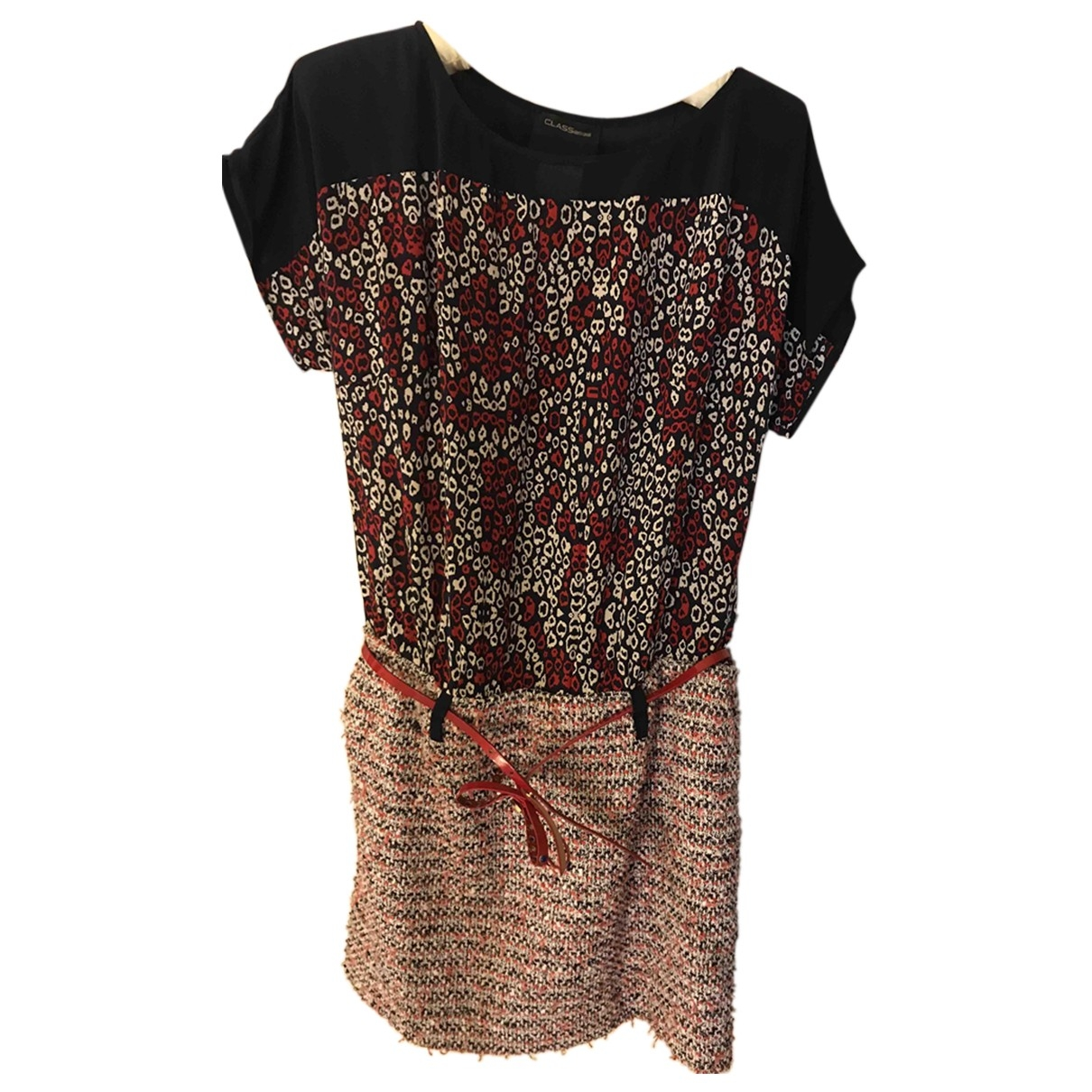 Roberto Cavalli \N Multicolour Cotton dress for Women 42 IT