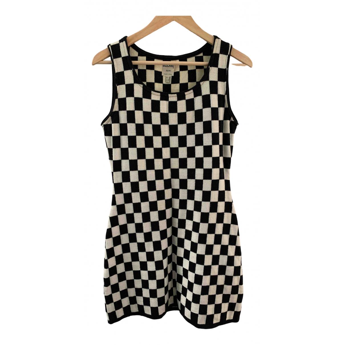 Moschino \N Black Wool dress for Women 42 IT