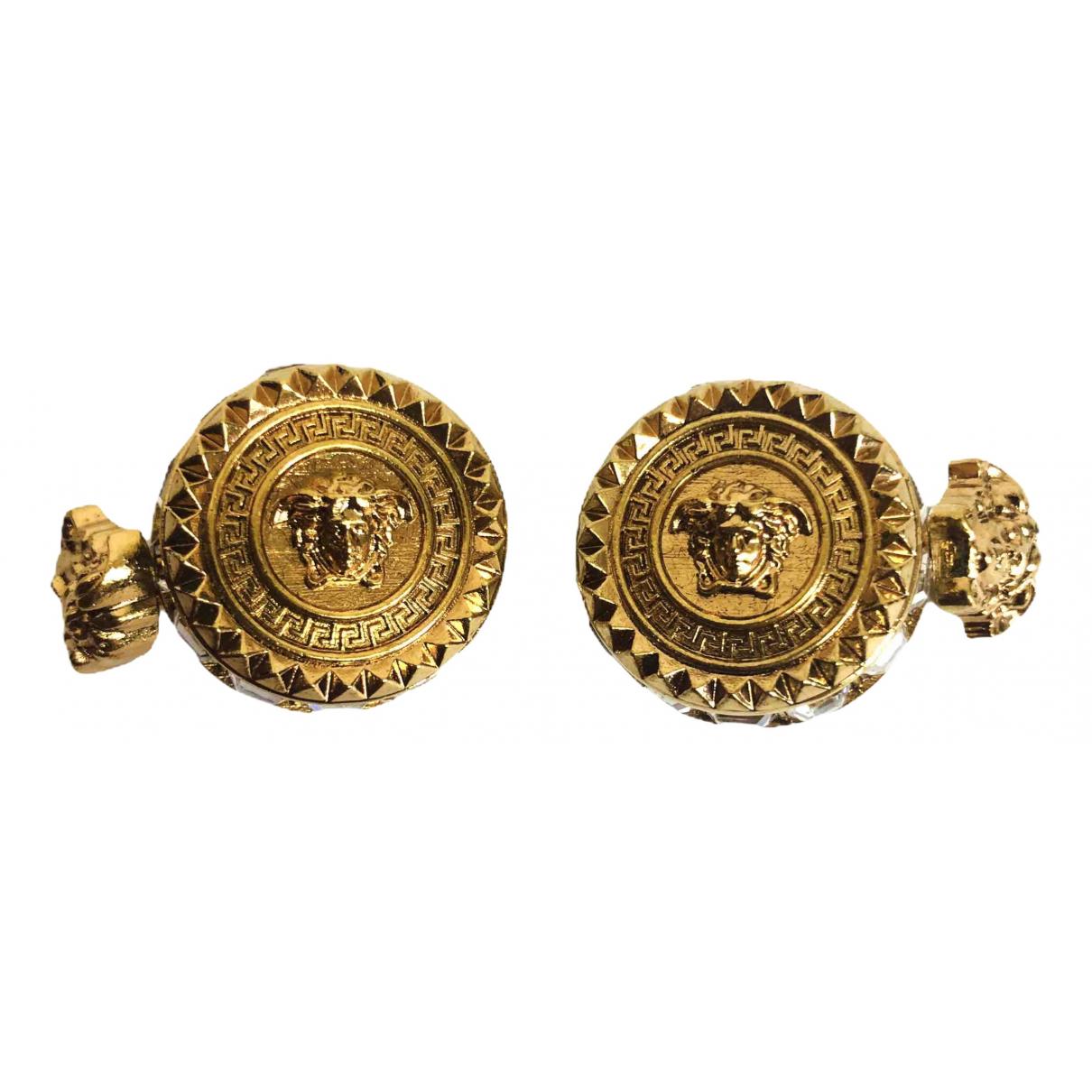 Versace \N Manschettenknopfe in  Gold Metall