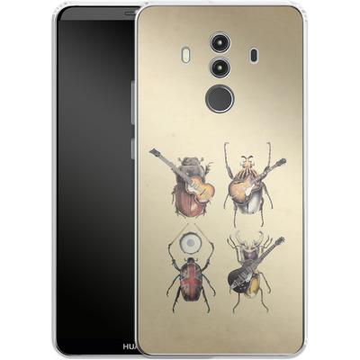 Huawei Mate 10 Pro Silikon Handyhuelle - Meet The Beetles von Eric Fan