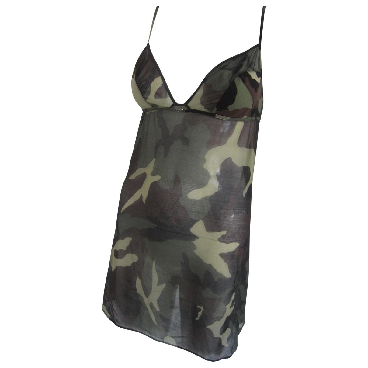 Dior \N Kleid in  Khaki Synthetik