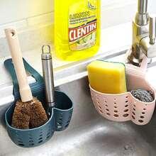 1pc Kitchen Hanging Drain Basket