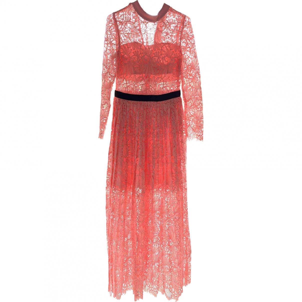 Self Portrait \N Pink Lace dress for Women 10 UK