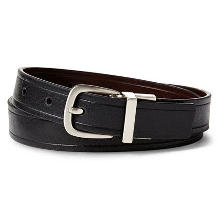 IZOD Big Boys Reversible Belt, X-small , Black