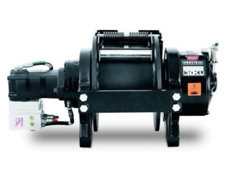Warn Industries 77880 Series 30XL Hydraulic Winch, Standard Drum, Manual Clutch (30,000 lbs)