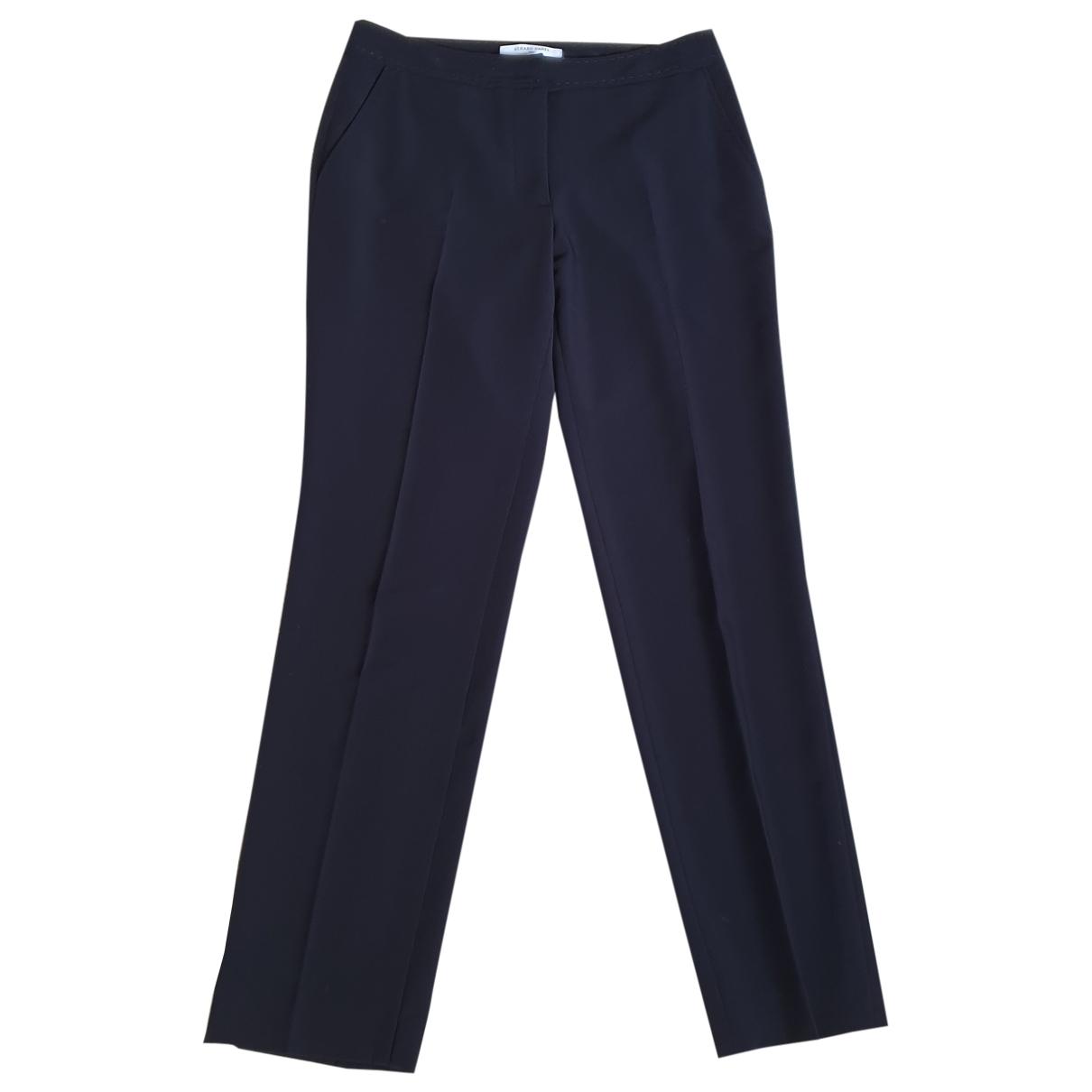 Gerard Darel \N Navy Trousers for Women 36 FR