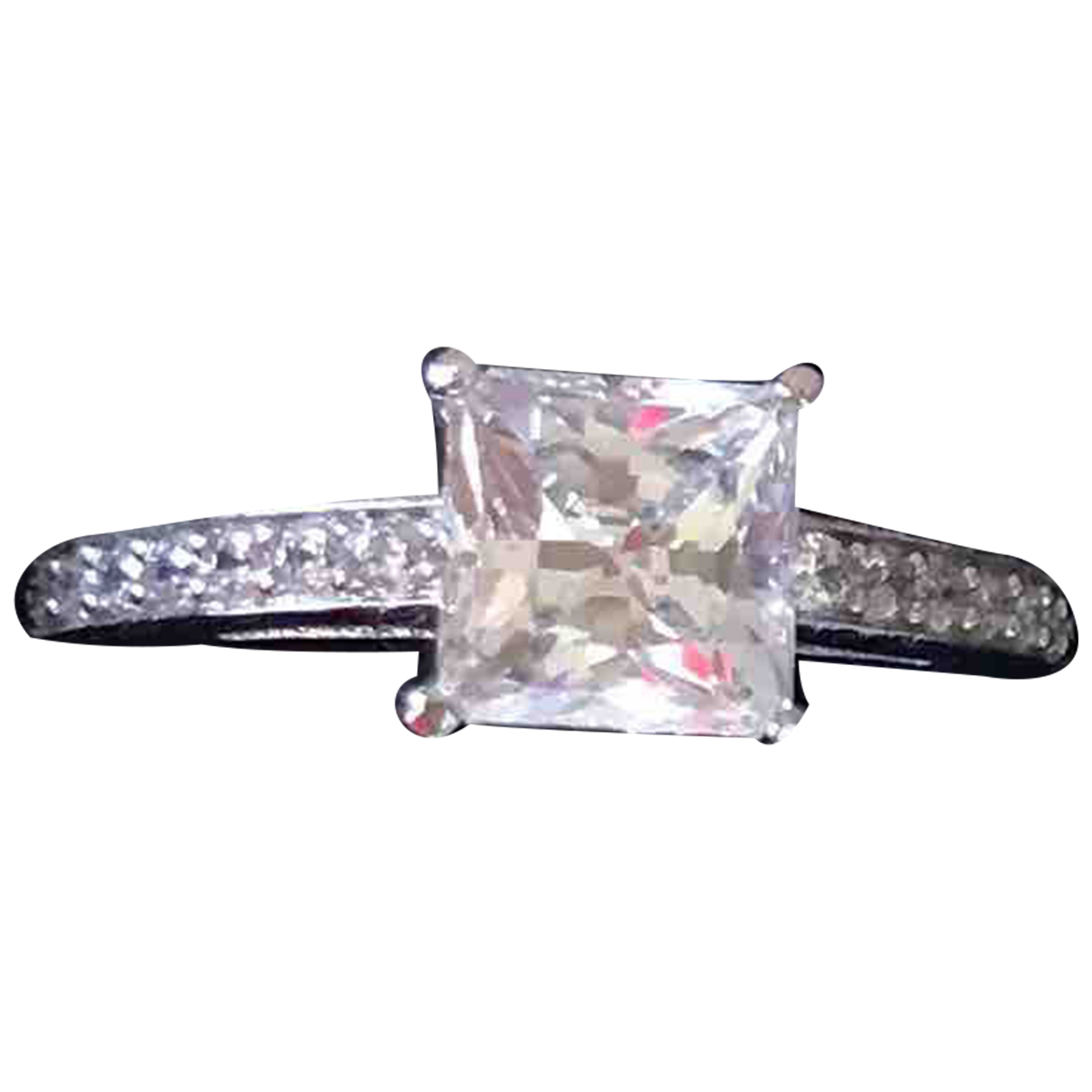 Swarovski - Bague   pour femme en metal - argente