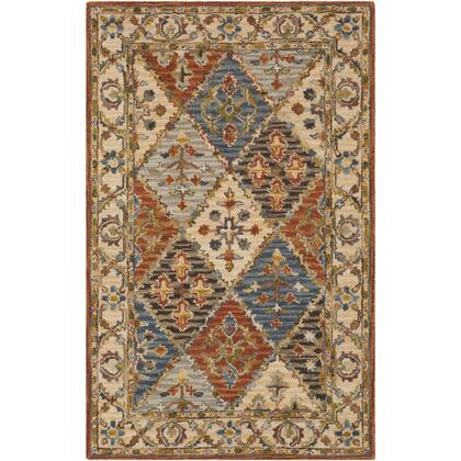 Artemis AES-2308 4' x 6' Rectangle Traditional Rug in